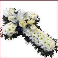 Funeral Cross Wreath